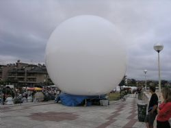 Esfera inflable 8 m